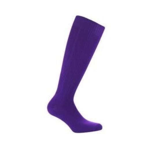 Purple Football / Hockey Socks - standard