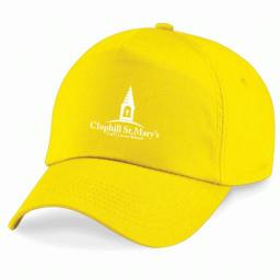 CSM Baseball Cap - Yellow.jpg