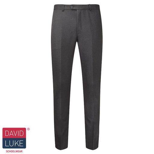 Boys Ultra Slim Trousers - Grey