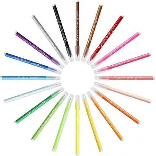 BIC Kids Kid Couleur Felt Tip Colouring Pens of 24 (2).jpg