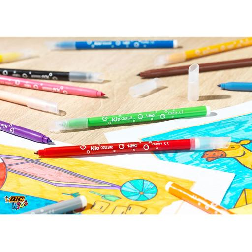 BIC Kids Kid Couleur Felt Tip Colouring Pens of 24 (1).jpg