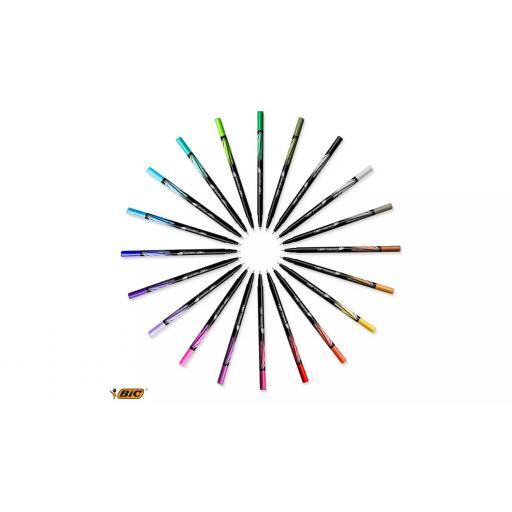 BIC Intensity Fineliner Pens - Pack of 20.png