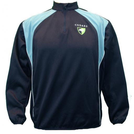 Cedars Upper ¼ Zip Training Jacket