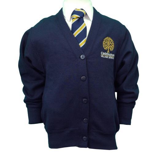 Caddington Village Sweatshirt Cardigan