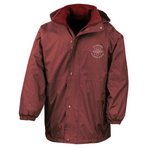 St Leonard's Reversible StormDri 4000 Fleece Jacket