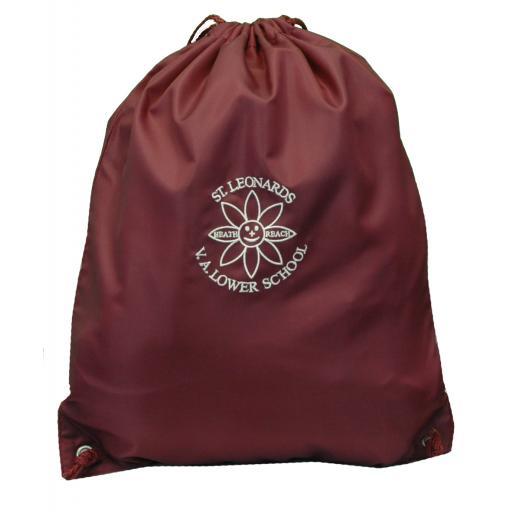 St Leonard's Junior P.E. Bag