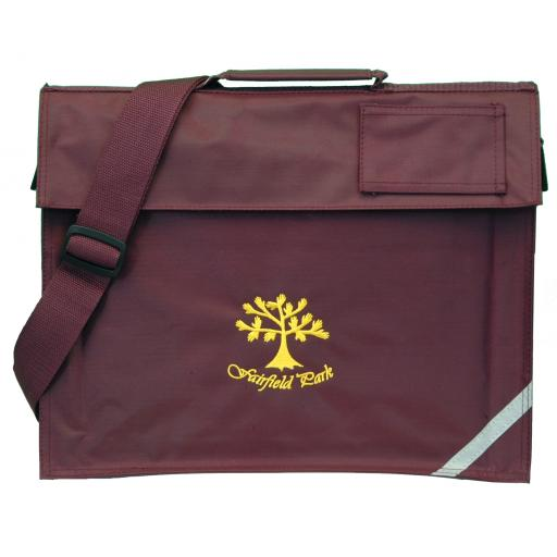 Fairfield Park Book Bag with Strap