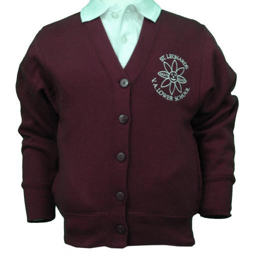 St Leonard's Sweatshirt Cardigan