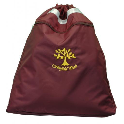Fairfield Park Senior P.E. Bag with Zip