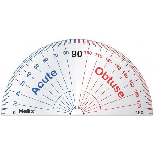 Helix® 180º 'Learning' Protractor