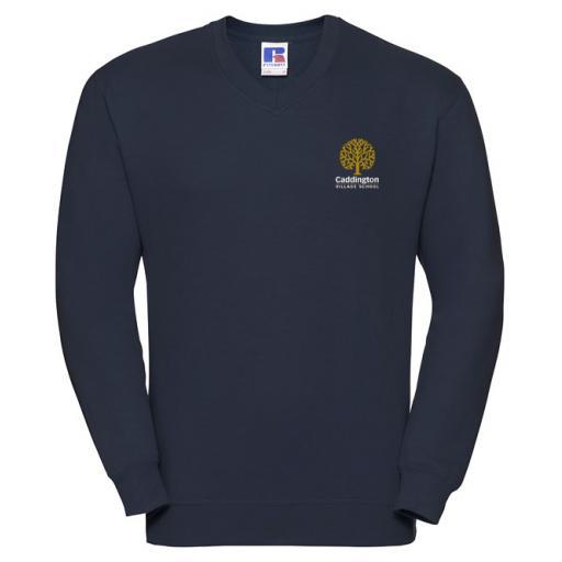 Caddington Village V-Neck Sweatshirt