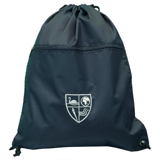 Great Denham Senior P.E. Bag with Zip