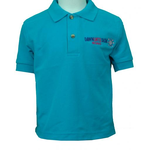 Lakeview Pre-school Polo Shirt - TURQUOISE