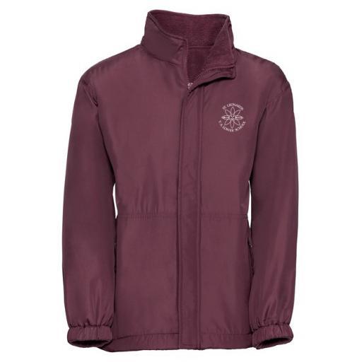 St Leonard's Reversible Showerproof Jacket