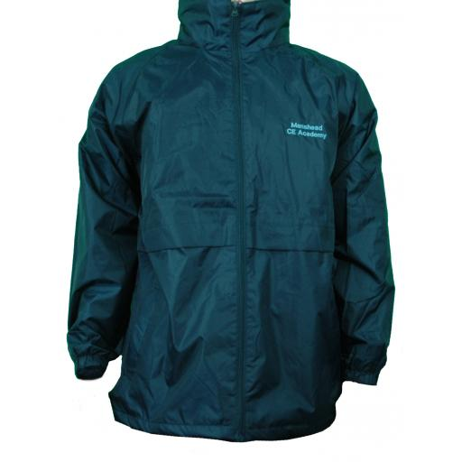 Manshead Academy Fleece Lined P.E. Jacket