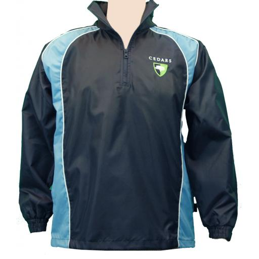 Cedars Upper ¼ Zip Rain Jacket
