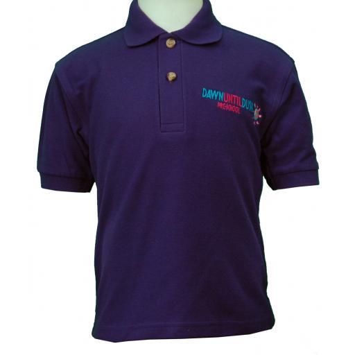 Lakeview Pre-school Polo Shirt - PURPLE