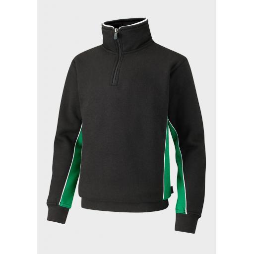 Challney Boys Spirit ¼ Zip Training Jacket